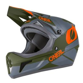 Casco ONeal Sonus Helmet DEFT Gray/Olive/Orange