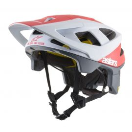 Casco Alpinestars Vector Tech White/Red Matte 2019