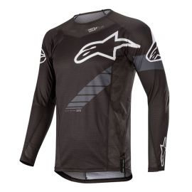 Jersey M/L Alpinestars Techstar Black/Anthracite