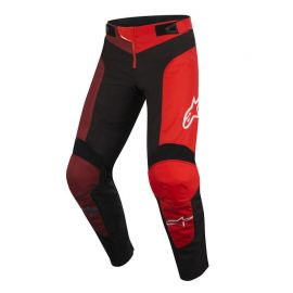 Pantaloni Lunghi Alpinestars Youth Vector Pants Black/Red 2019