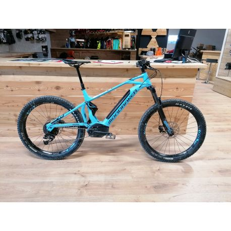 E-Mtb Mondraker CHASER+ 27.5+ Light Blue/Black Tg. Medium 2019