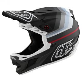 Casco Troy Lee Designs D4 Composite MIPS Mirage Black/Silver