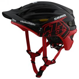 Casco  Troy Lee Designs  A2 MIPS Decoy SRAM Black/Red