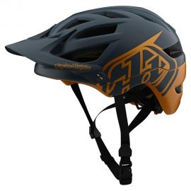 Casco Troy Lee Designs  A1 MIPS Classic Gray/Gold