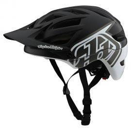 Casco Troy Lee Designs  A1 MIPS Classic Black/White