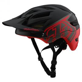 Casco Troy Lee Designs  A1 MIPS Classic Black/Red
