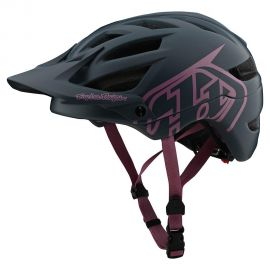 Casco Troy Lee Designs  A1 Drone Gray/Pink