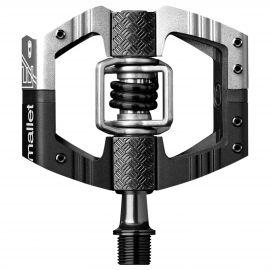 Pedali Crank Brothers Mallet E LS  Black/Silver