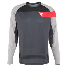 Jersey M/L Dainese HG Jersey 3 Dark Gray/Fire Red