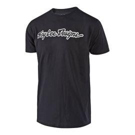 T-Shirt M/C Troy Lee Designs Signature Black