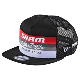 Cappellino Troy Lee Designs SRAM Racing Block Black