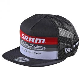 Cappellino Troy Lee Designs SRAM Racing Block Dark Charcoal