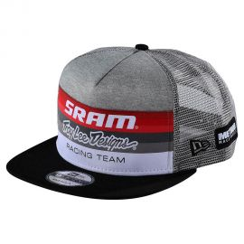 Cappellino Troy Lee Designs SRAM Racing Block Heather