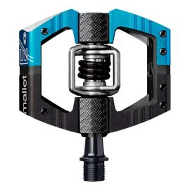 Pedali Crank Brothers Mallet E LS  Black/Electric Blue