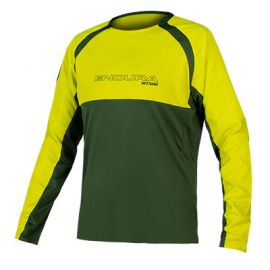 Jersey Endura MT500 Burner L/S  II Forest Green
