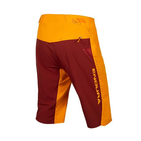 Pantaloni Endura SingleTrack Lite Short mandarino