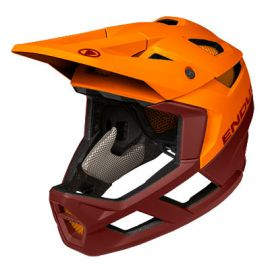 Casco Endura MT500 Full Face Helmet mandarino