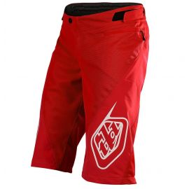 Pantaloni Corti Troy Lee Designs Senza Fodero Sprint Short rosso