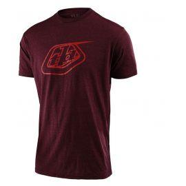 T-shirt Troy Lee Designs Sleeve Tee Logo sangria