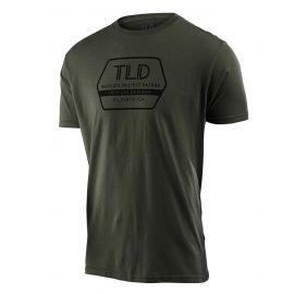 T-shirt Troy Lee Designs Sleeve Tee Factory Surplus verde