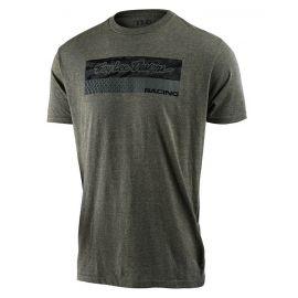 T-shirt Troy Lee Designs Tee Racing Block Fade Sage verde