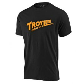 T-shirt Troy Lee Designs Youth Sleeve Tee Voltage nera