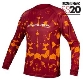 Jersey Endura MT500 Kali L/S ruggine