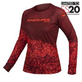Jersey Endura Women's MT500 Marble L/S marrone
