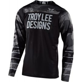 Jersey Troy Lee Designs Skyline Air Pinstripe Nero/Camouflage