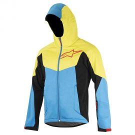 Giacca Alpinestars Milestone 2 blu/giallo