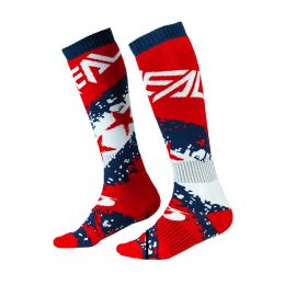 Calze ONeal Pro Mx Stars red/blue
