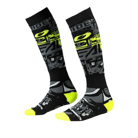 Calze ONeal Pro Mx Ride black/neon yellow