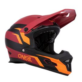 Casco ONeal Fury Stage red/orange