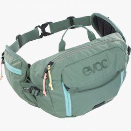 Marsupio EVOC Hip Pack 3L + sacca idrica 1.5L Olive